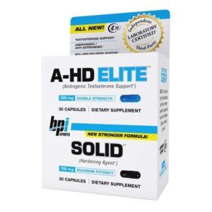 Booster de testostérone A-HD Elite