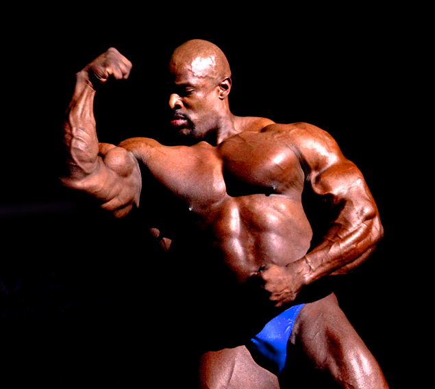 Ronnie Coleman, Mr Olympia.